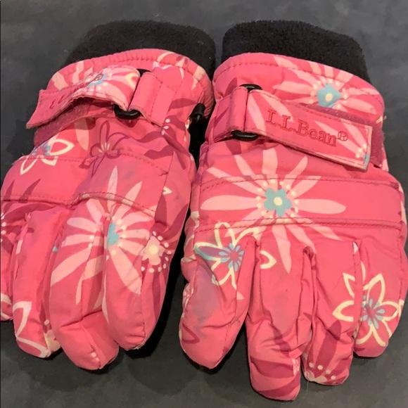 LL Bean XXS thinsulated gloves.